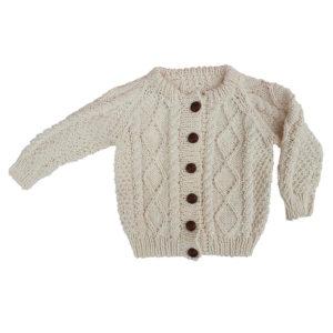 Cait Traditional Handknit Cardigan