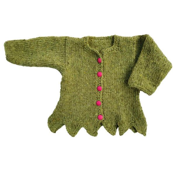 Green Tinkerbell Cardigan