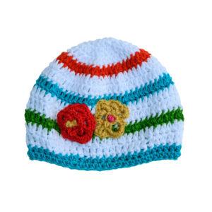 Lise May hand crochet cap