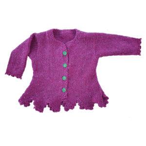 Tinkerbell Wool Cardigan