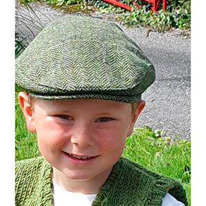 Tomás boys cap Irish Tweed